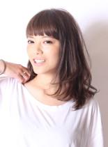 ☆大人のレイヤーミディアム(髪型ミディアム)