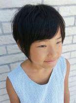 ショートボブキッズ(髪型ショートヘア)