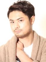 大人のナチュラルショート(髪型メンズ)