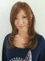 ツヤサラ☆ワンカールパーマ☆(髪型ロング)