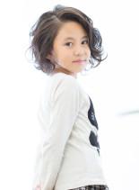 【キッズ時計×jiji】大人なショート☆(髪型ボブ)
