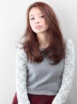 洗練されたロングスタイル(髪型ロング)
