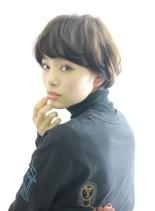 ワンカールのふんわりオシャレショート(髪型ショートヘア)