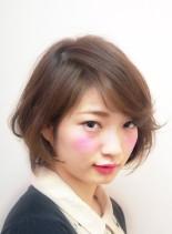 cuteボブ(髪型ショートヘア)