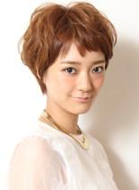大人のトレンドショート(髪型ショートヘア)