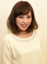 ふわふわボブ♪(髪型ミディアム)