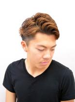 シルエット抜群刈り上げショート(髪型メンズ)
