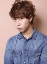 外国人風アンニュイパーマ(髪型メンズ)