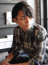 JSB 登坂さん風 2ブロック無造作ヘア(髪型メンズ)