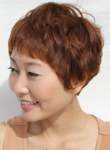 マッシュショートレイヤー(髪型ショートヘア)