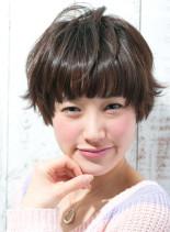 フレンチショート(髪型ショートヘア)