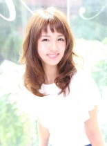 Aere☆ニュアンスセミロング(髪型セミロング)