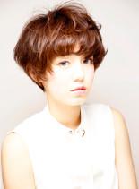 スウィートショートボブ(髪型ショートヘア)
