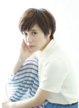 ミニマム可愛いショートスタイル(髪型ショートヘア)