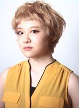 ミア・ファロー風70'sショートボブ(髪型ボブ)