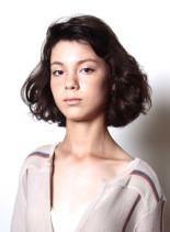 70s ボヘミアンボブ(髪型ボブ)