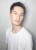 爽やかスッキリベリーショート(髪型メンズ)