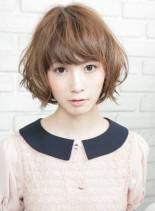 SWEETショートボブ(髪型ボブ)