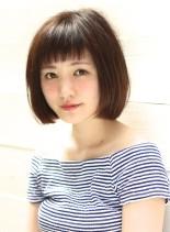 ☆パールカラー×ショートボブ☆(髪型ボブ)