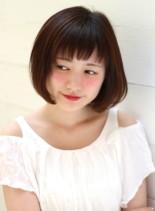 ☆ワンカールナチュラルボブ☆(髪型ボブ)