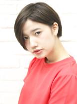 ☆かわいい大人耳かけショート☆(髪型ショートヘア)