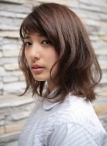 フレンチボブ(髪型ミディアム)