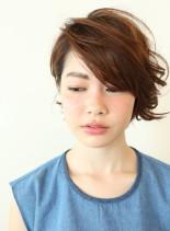 ニュアンスショート(髪型ショートヘア)