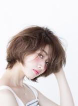 カジュアリーボブ(髪型ボブ)