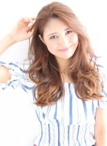 2015夏☆中村アン風サマービーチヘア (髪型ロング)
