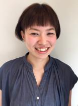 前髪がポイント!マニッシュショートボブ☆(髪型ショートヘア)