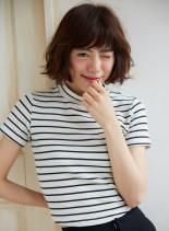 大人カジュアルなヘルシーパーマボブ(髪型ボブ)