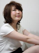 なちゅふわショートボブ(髪型ボブ)