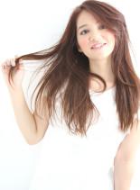 大人女子のさわやかナチュラルストレート(髪型ロング)