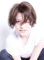 カットだけで作る☆ふんわりショート(髪型ショートヘア)