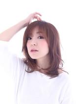 大人可愛い ヘルシーロブ☆(髪型セミロング)