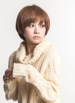 かわいい大人☆マニッシュショート(髪型ショートヘア)