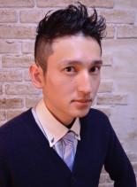 カジュアルリーゼント(髪型メンズ)