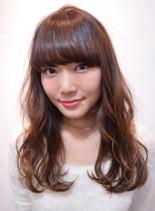 フェミニンロング(髪型ロング)