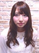 ゆるふわカール(髪型ロング)