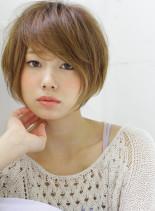 カットでキマる・大人品格ショートスタイル(髪型ショートヘア)