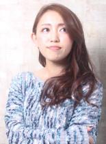 カジュアルスウィートヘア(髪型ロング)