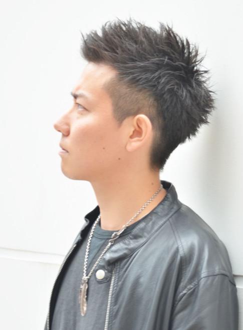 黒髪さわやか束感ショート(ビューティーナビ)