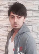 大人のブラックショート(髪型メンズ)