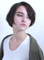 ふんわり ナチュラル ショート ボブ(髪型ショートヘア)