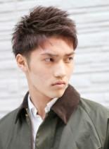 三代目登坂風×ネオモヒカンショート(髪型メンズ)