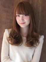 上品ニュアンスカール(髪型ロング)