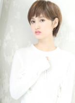 ☆クリーンなシンプルショート☆(髪型ショートヘア)