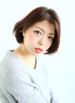 朝楽ワンカールボブ(髪型ボブ)