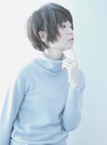 【シアングレー】×【ひし形ショート】