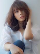 今の気分は☆大人カジュアル☆(髪型セミロング)